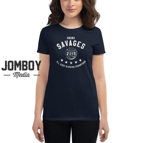 Yankees AL East Champs 2019 | Baseball | Women's T-Shirt - Jomboy Media
