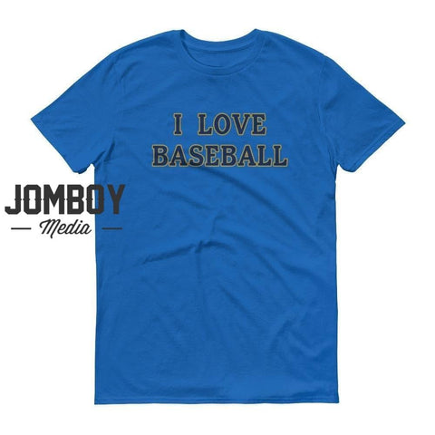 I Love Baseball - Brewers T-Shirt