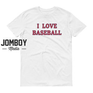 I Love Baseball - Cardinals Colors