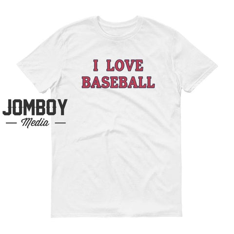 I Love Baseball - Cardinals T-Shirt