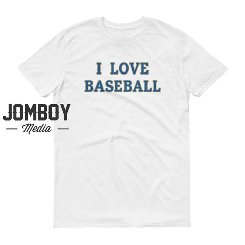 I Love Baseball - Royals T-Shirt