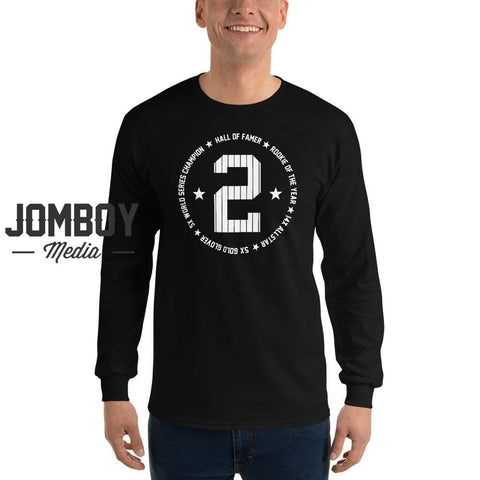 Derek Jeter HOF | Long Sleeve Shirt - Jomboy Media