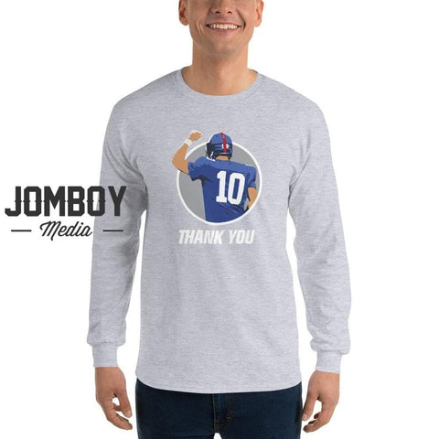 Thank You, 10 | Long Sleeve Shirt - Jomboy Media