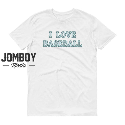 I Love Baseball - Mariners T-Shirt