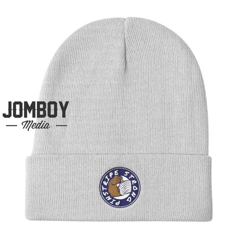 Pinstripe Strong | Beanie - Jomboy Media