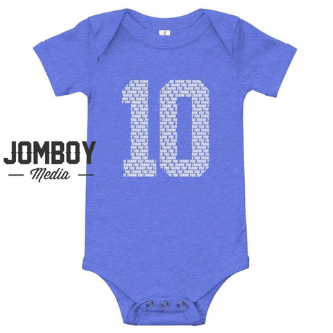 10, Thank You - Baby Onesie
