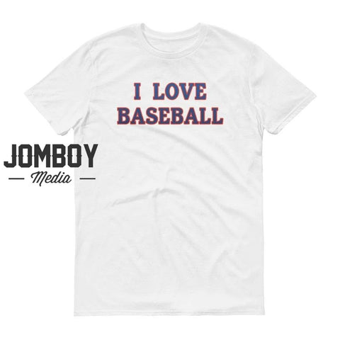 I Love Baseball | Blue Jays | T-Shirt - Jomboy Media
