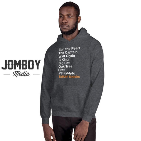 Knicks Legends List | Hoodie - Jomboy Media