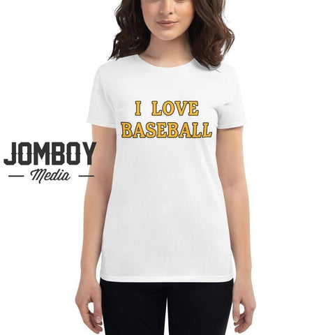 I Love Baseball - Pirates Women's T-Shirt