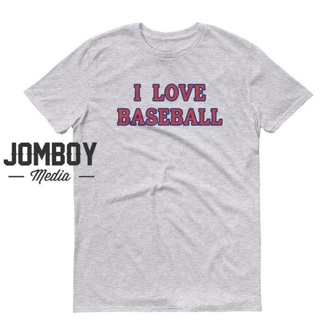 I Love Baseball - Cubs T-Shirt