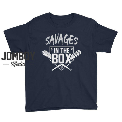 Savages in the Box Youth Short Sleeve T-Shirt