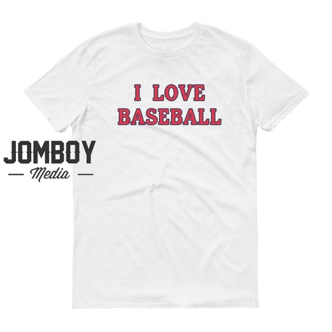 I Love Baseball - Indians T-Shirt