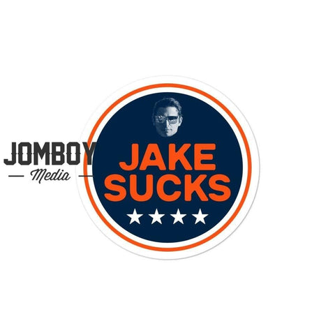 JAKE REALLY SUCKS | Sticker - Jomboy Media