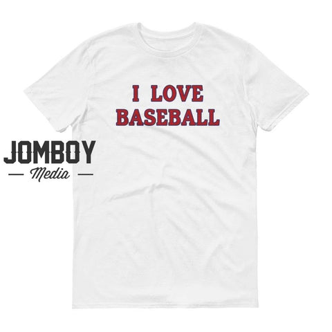 I Love Baseball - Nationals T-Shirt