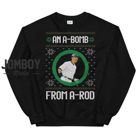 An A-Bomb From A-Rod | Winter Sweater