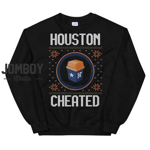 Houston Cheated | Winter Sweater