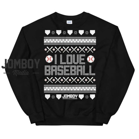 I Love Baseball | Winter Sweater
