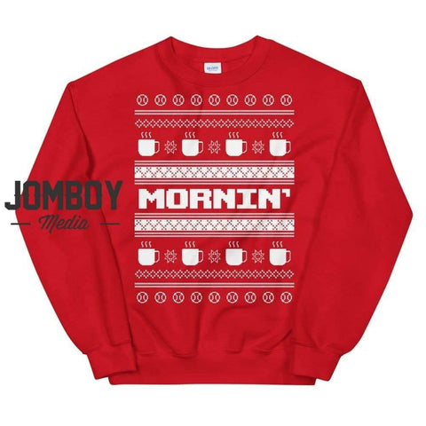 Mornin' | Winter Sweater - Jomboy Media
