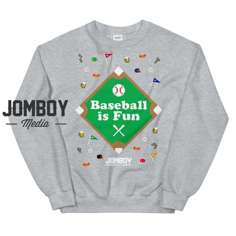 Baseball Is Fun | Winter Sweater