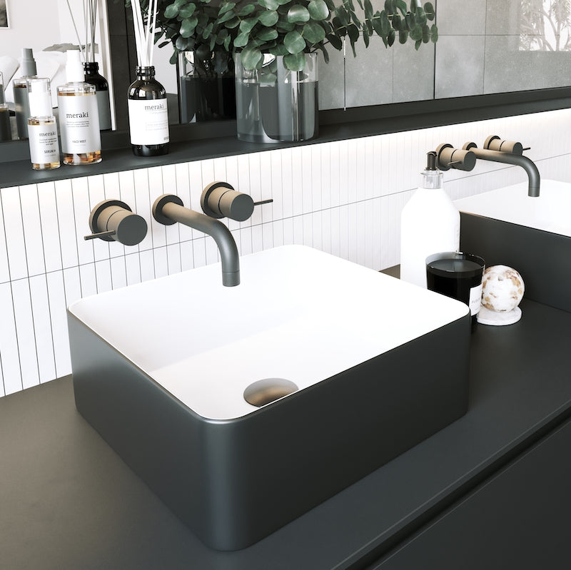 Eight Quarters Basins - Bellevue Square Contemporary