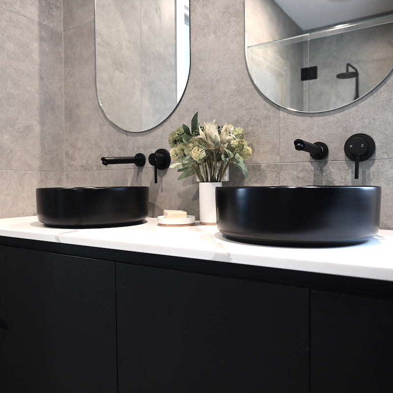 Eight Quarters Wash Basins - Amaroo Circle Black
