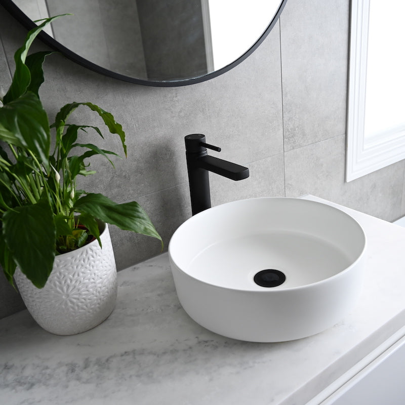 Eight Quarters Wash Basins - Amaroo Circle White