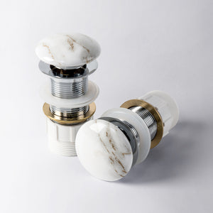 Eight Quarters Pop-Up Waste - Gloss Marble