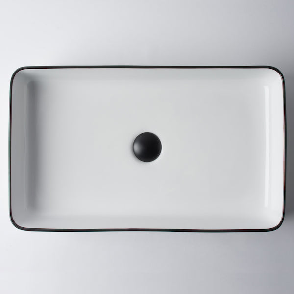Eight Quarters Wash Basin - Montalto Large Rectangle