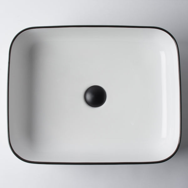 Eight Quarters Wash Basin - Montalto Small Rectangle Classic