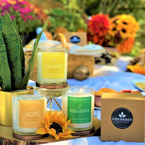 Moments of Grace, Aromatherapy Candles, Coconut Candles