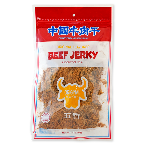 ORIGINAL FLAVORED BEEF JERKY 中國牛肉干 原味