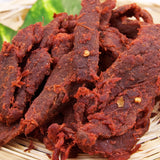 HOT FRUIT FLAVORED BEEF JERKY 中國牛肉干 辣果汁味-Chinese Brand Beef Jerky
