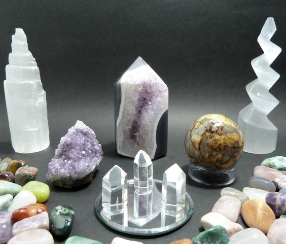 Crystals, Gemstones And Mineral Specimens