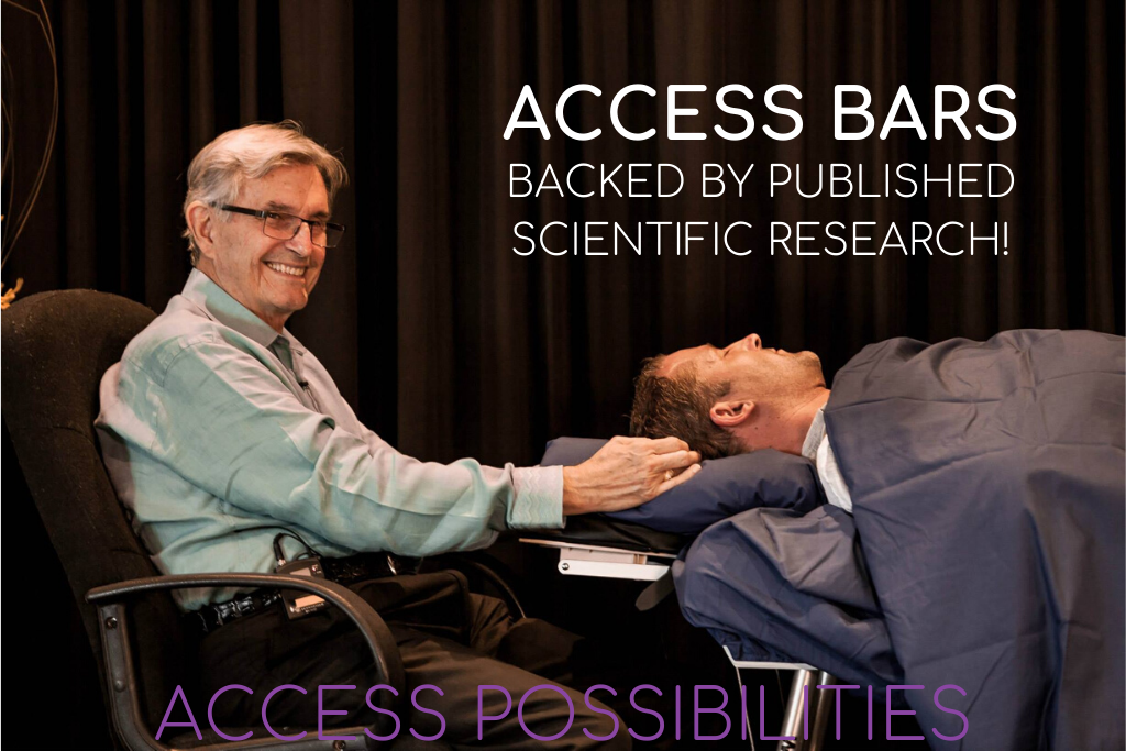 Access Bars backed by published scientific research!