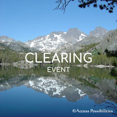 Clearing Event | Access Possibilities