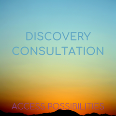 Discovery Consultation with Julie | Access Possibilities