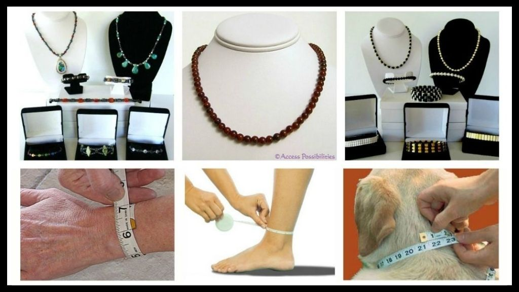 Handcrafted Gemstone and Magnetite Magnetic Jewelry Sizing Instructions | Access Possibilities