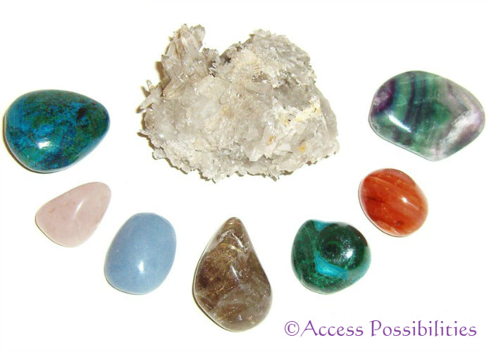 Healing crystals are used in Crystal Therapy to balance and heal the body. Each crystal has unique metaphysical and healing properties.