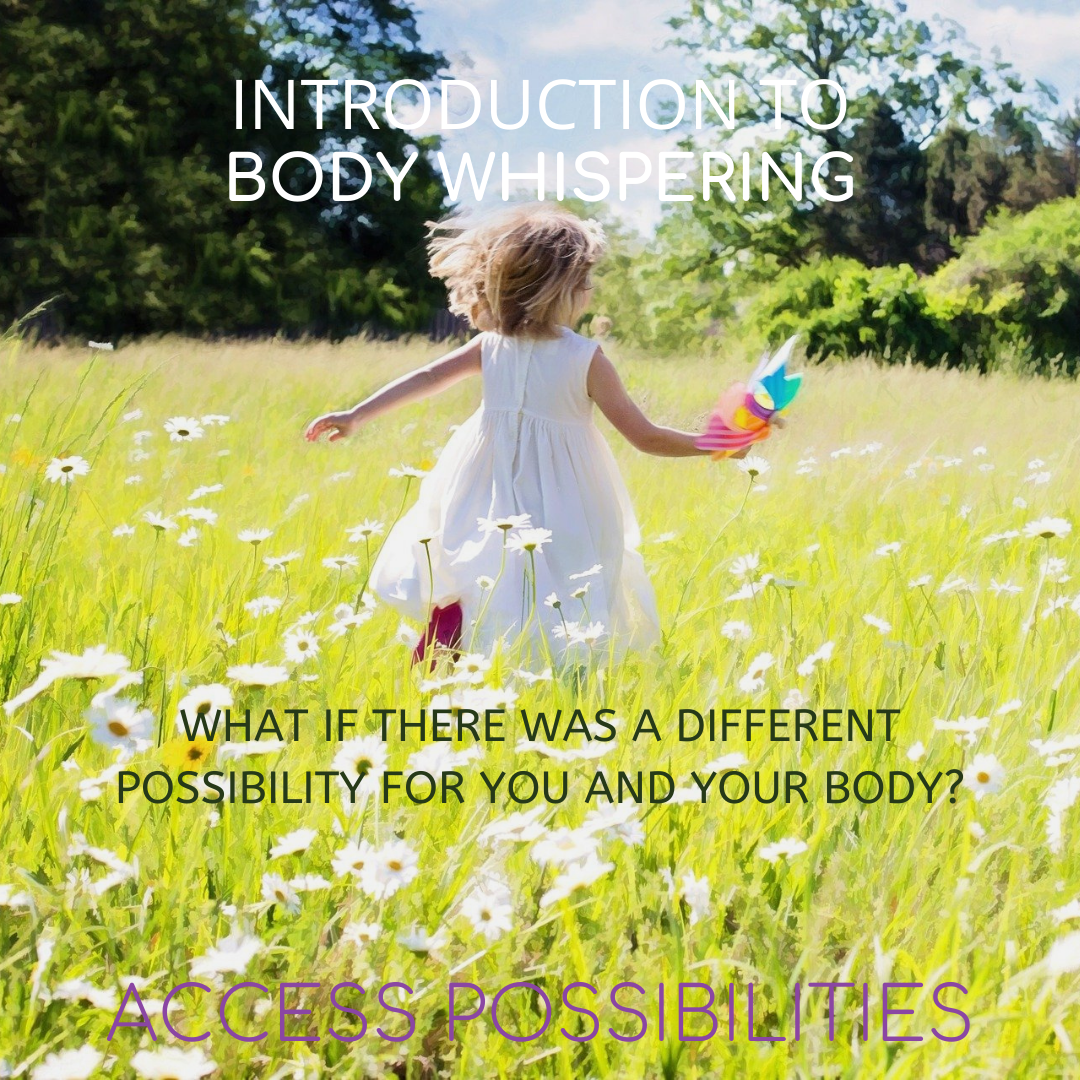 Introduction To Body Whispering   Are You And Your Body Asking For Something Greater?   Access Possibilities