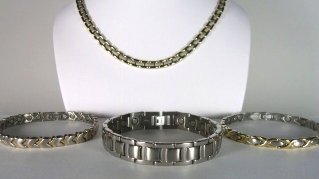 Stainless Steel and Titanium Magnetic Link Jewelry Sizing Instructions