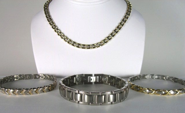 Unipolar Magnetic Therapy Jewelry