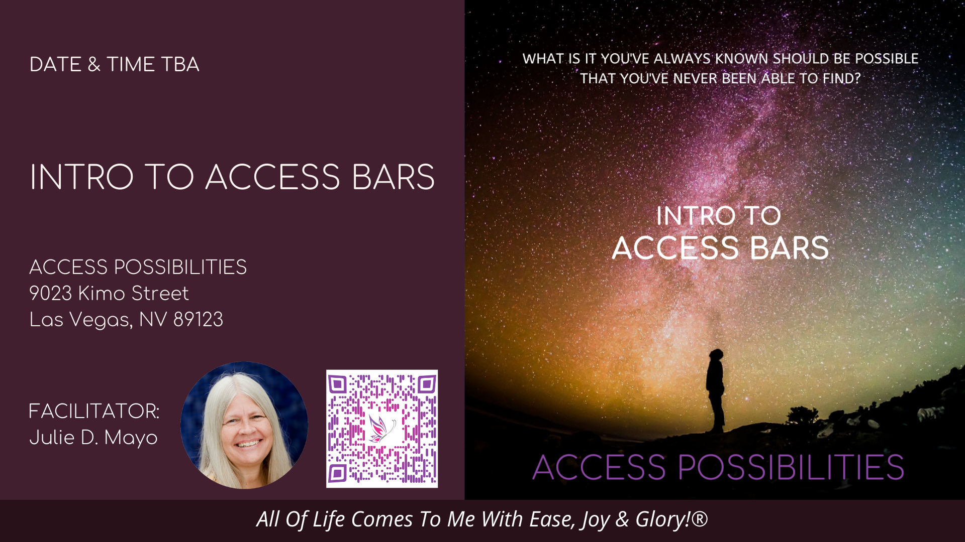 Intro To Access Bars Live Class Details   Access Possibilities