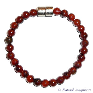 6mm Agate Gemstone Anklet