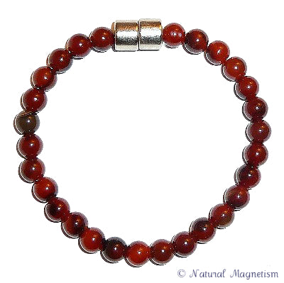 6mm Agate Gemstone Bracelet