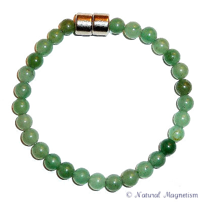 6mm Aventurine Gemstone Bracelet