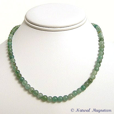 6mm Aventurine Gemstone Necklace