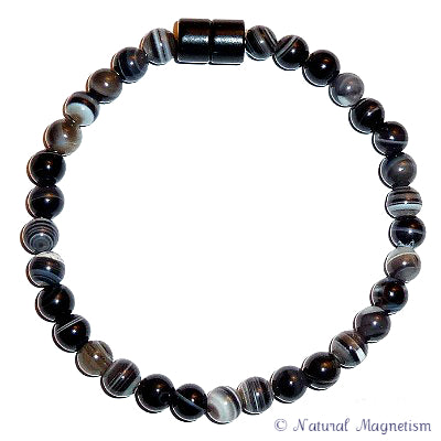 6mm Sardonyx Gemstone Anklet