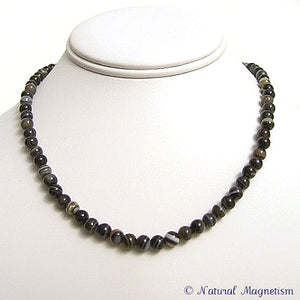 6mm Sardonyx Gemstone Necklace