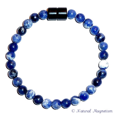 6mm Sodalite Gemstone Anklet