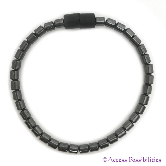 5mm Drum Magnetite Magnetic Anklet | Magnetite Jewelry | Access Possibilities